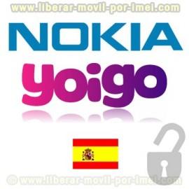 Liberar NOKIA BB5 YOIGO por IMEI