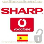 Liberar SHARP VODAFONE por IMEI