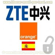 Liberar ZTE Orange por IMEI