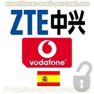 Liberar ZTE Vodafone por IMEI